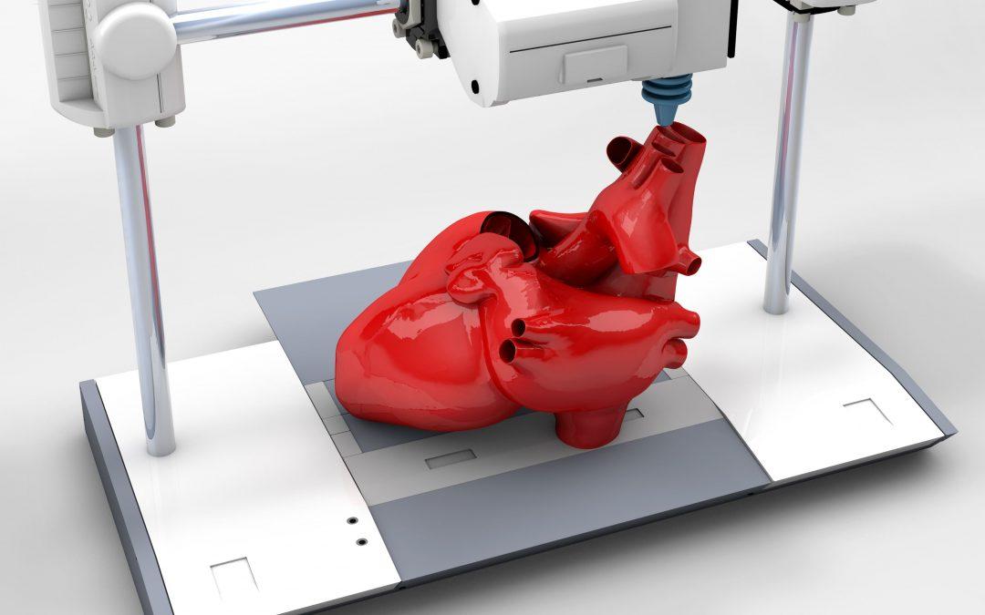 impressão de órgãos 3D